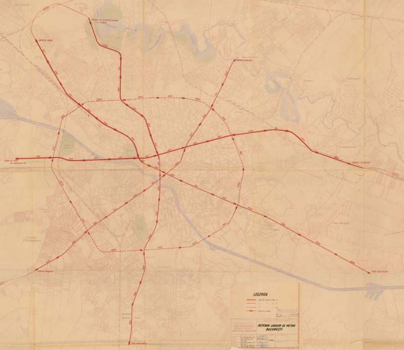 Hartă Metrou 1953 Vs Hartă Metrou 2018 Cum Ar Fi Trebuit Să