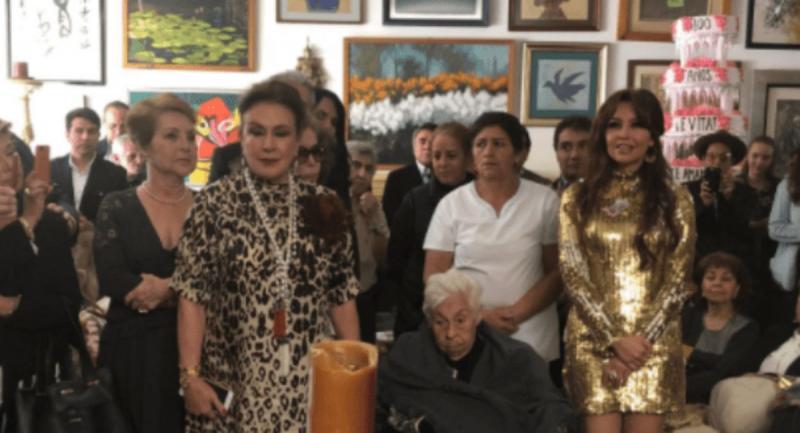 Thalia, întâlnire de gradul 3 cu sora ei, actrița de telenovele Laura Zapata. Cele două se urăsc de moarte   VIDEO