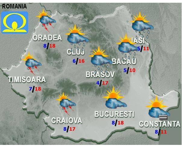Prognoza METEO 12 martie. Bucurați-vă de VREME! De LUNI, vine PRĂPĂDUL în România