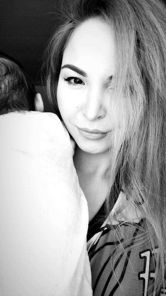 """Frumoasa Alessia, probleme de sănătate după naștere: """"Așa tare nu m-a durut niciodată!"""". Artista, superbă în prima poză cu bebelușul"""