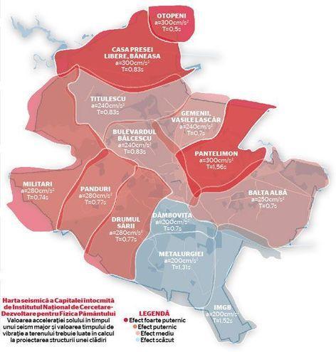 Harta Seismică A Bucurestiului Care Sunt Cele Mai Afectate Si
