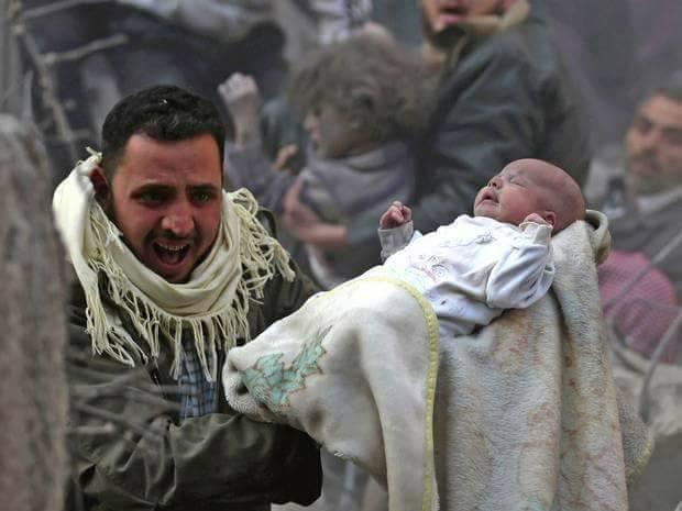 """Iadul pe pământ. În fața acestor imagini, lumea ar trebui să tacă pentru totdeauna! Infernul copiilor, numit """"SIRIA"""""""