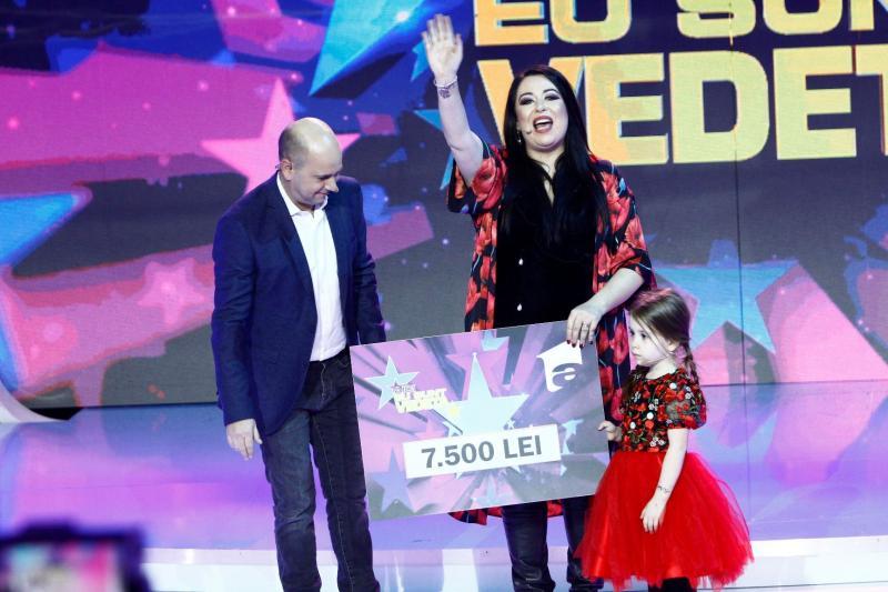 """Oana Roman și fiica ei, Isabela,  au câștigat prima ediție """"Aici eu sunt vedeta"""" a noului sezon!"""