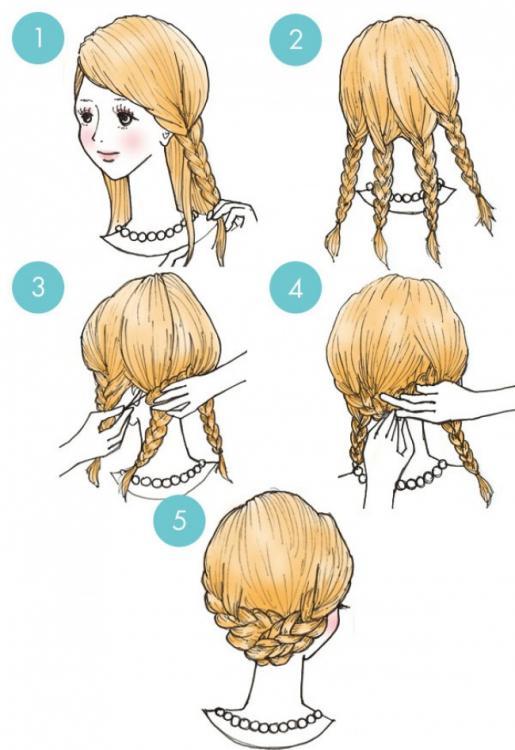 Inspirație Pentru Părul Tău Pas Cu Pas Cele Mai Simple 20 De