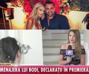 """Menajera lui Bodi rupe tăcerea! A fost sau nu Bianca Drăgușanu bătută de afacerist: """"Realitatea e cu totul alta!""""/ VIDEO"""