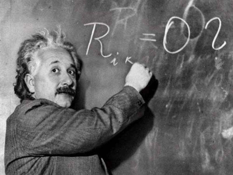 Kết quả hình ảnh cho albert einstein propone la teoria general de la relatividad