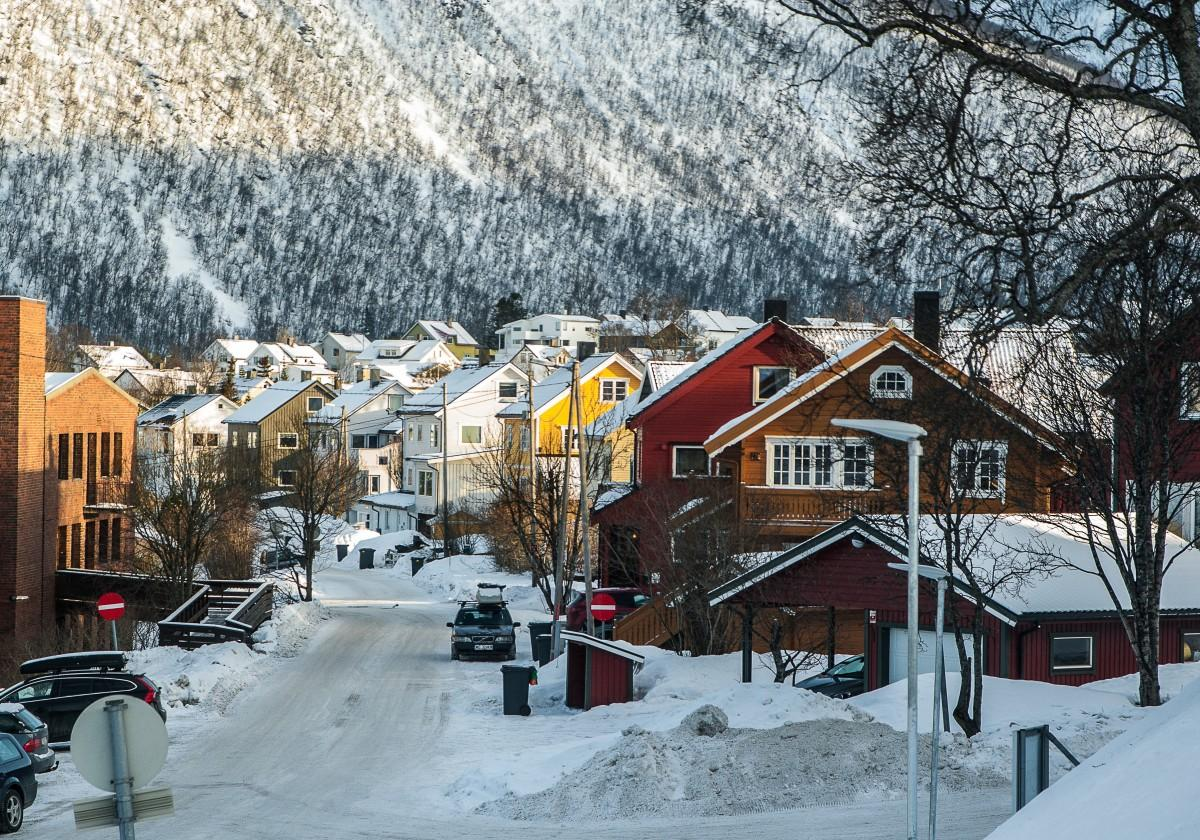 circuite turistice de iarna: Laponia