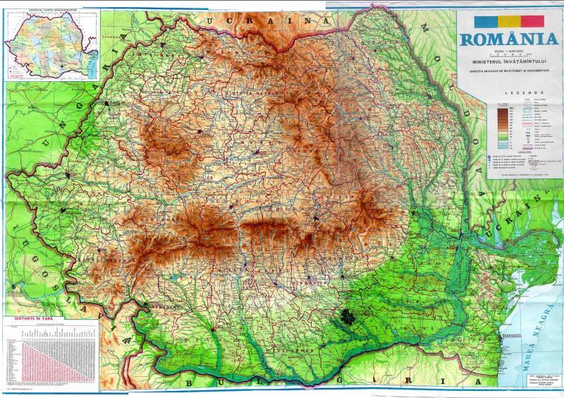 harta romaniei Harta României ar putea să se schimbe: