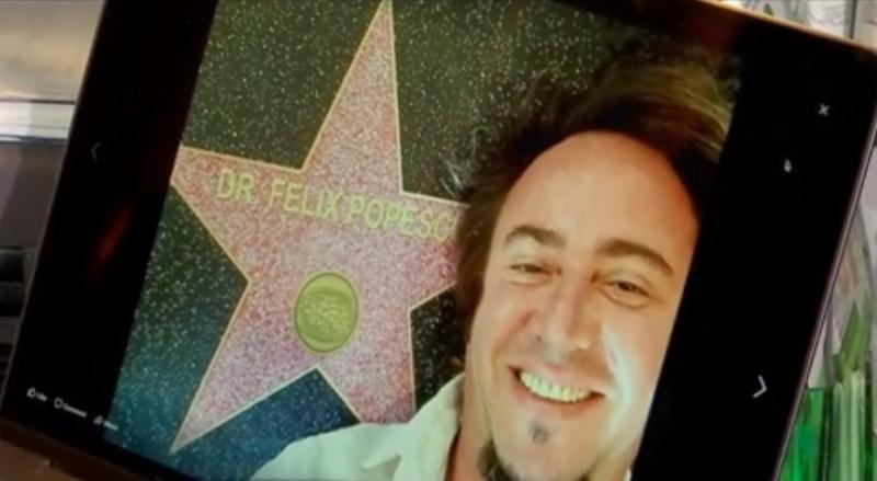 """Felix Popescu, medicul care a operat victimele de la Colectiv, premiat la Hollywood cu o stea pe Walk of Fame! """"M-au numit erou, dar m-am simţit foarte prost..."""""""