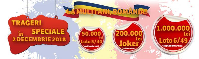 Loteria Română, extrageri speciale de Centenar! Câștiguri uriașe puse în joc
