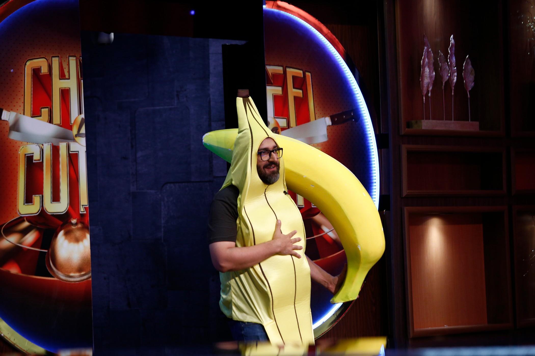 """Robert Candoi Savu a făcut show la """"Chefi la cuțite"""""""