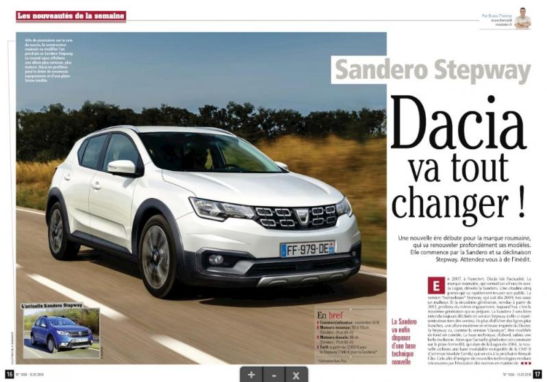 Oaaau, cum arată! Noua Dacia Sandero este incredibilă! Au apărut primele imagini