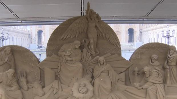 Apariție spectaculoasă la Vatican, în preajma Crăciunului! Mesajul extraordinar transmis de Papa Francisc