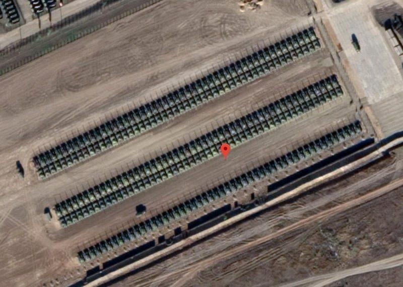 Rusia se pregătește de atac! Imaginile nu mint, sute de tancuri, la granița Ucrainei!