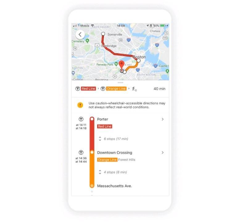 Google vine în ajutorul persoanelor cu probleme de sănătate. Noua opțiune Google Maps