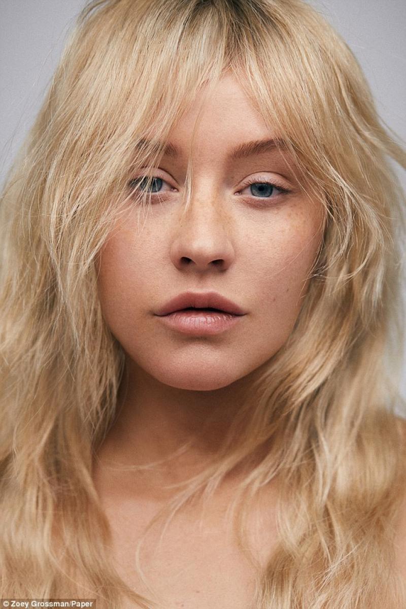 Christina Aguilera Așa Cum Nu Ai Mai Văzut O Fără Pic De Machiaj