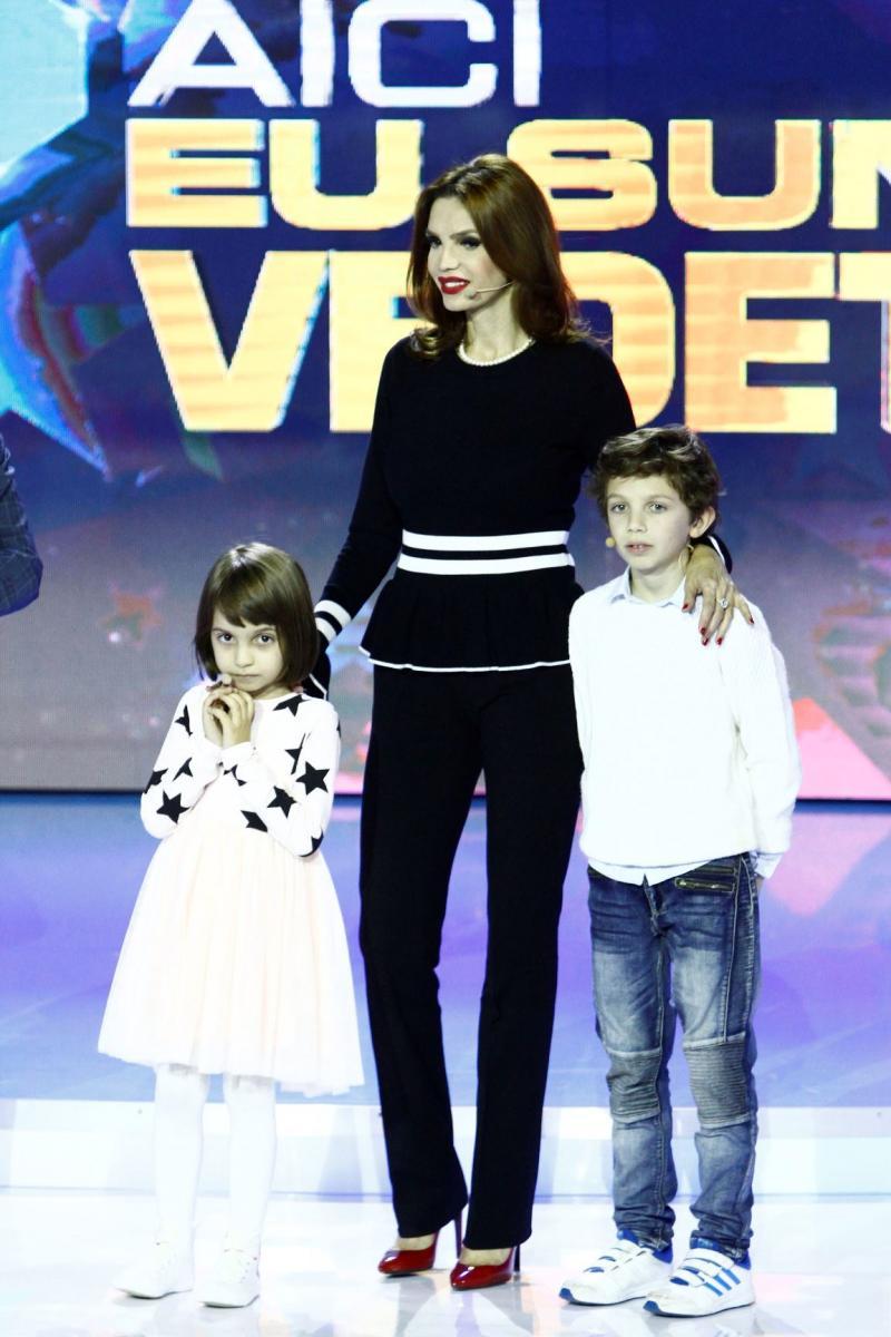 """Copiii Cristinei Spătar, ai lui Gelu Voicu și Silviu Andrei spun secretele părinților lor,  la """"Aici eu sunt vedeta"""""""
