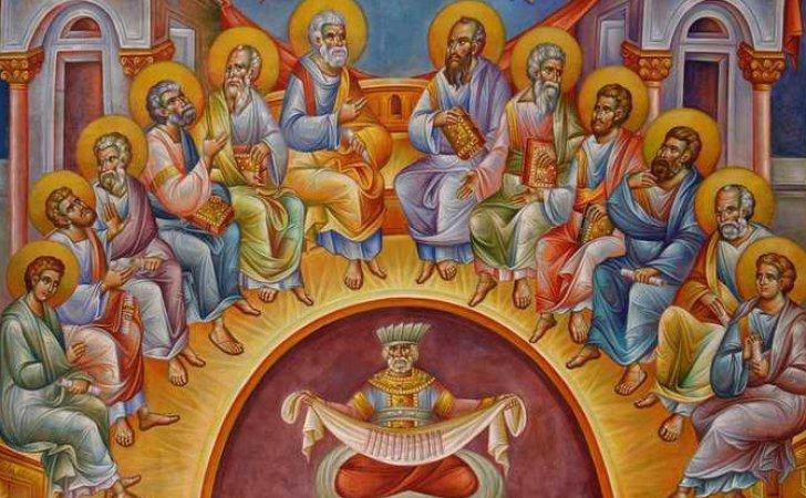 Rusaliile Sau Pogorarea Sfantului Duh Este O Sarbatoare Anuala Pe Care Crestinii O Praznueisc La Cincizeci De Zile Dupa Invierea Domnului