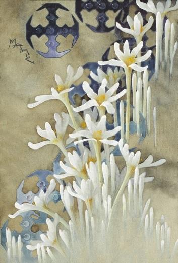 INEDIT! O pictură realizată de regina Maria a României, vândută la licitație. La ce sumă a fost adjudecată. FOTO