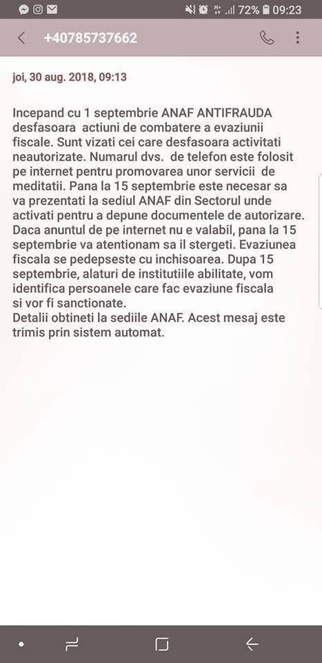 Avertisement de ULTIMĂ ORĂ de la ANAF! Românii pot fi victimele unei FRAUDE. Totul se întâmplă din cauza unor SMS-uri aparent inofensive
