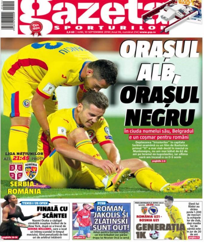 Revista presei sportive, 10.09.2018: Naționala revine în orașul infernului, Belgrad; Un campion mondial, oferit Barcelonei; Pogba, din nou la Juve?