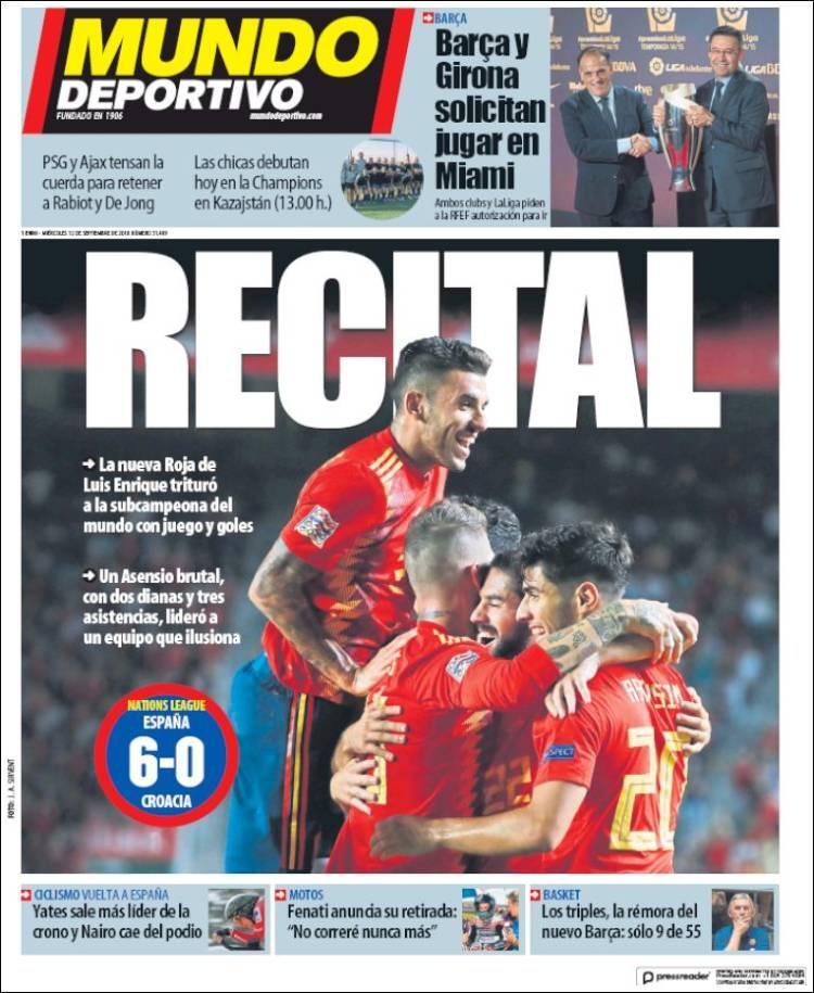 Revista presei sportive, 12.09.2018: România U21, aproape de Euro; CFR-FCSB, derby fatal pentru un antrenor; Tevez, alegere surpriză între Messi și Ronaldo