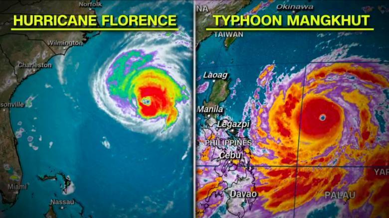 Uraganul Florence: de ce ar putea deveni o catastrofă istorică