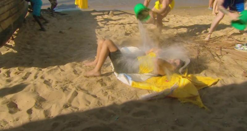 """BEST OFF ULTIMUL TRIB! Dorian Popa și Silviu Mircescu i-au """"copt-o"""" Danielei Crudu! Ce s-a întâmplat în timp ce se relaxa la plajă"""