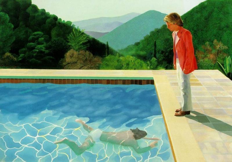 O pictură ar putea deveni cea mai scumpă lucrare a unui artist în viaţă vândută la licitaţie. Cum arată opera, dar și cât valorează