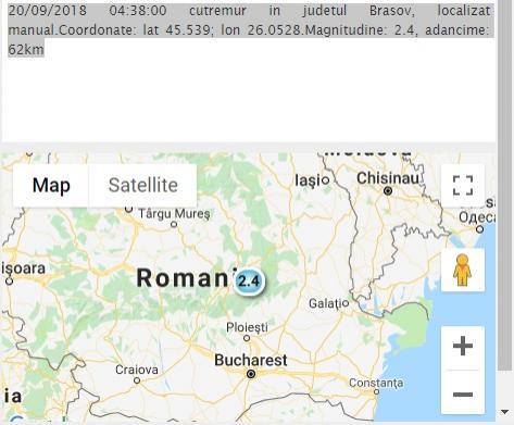 Cutremur în această dimineață, în România! Ce magnitudine a avut