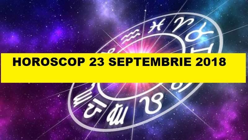 Horoscop 23 Aprilie 2019: Racul va merge până în pânzele ...   Horoscop 23 Septembrie 2020