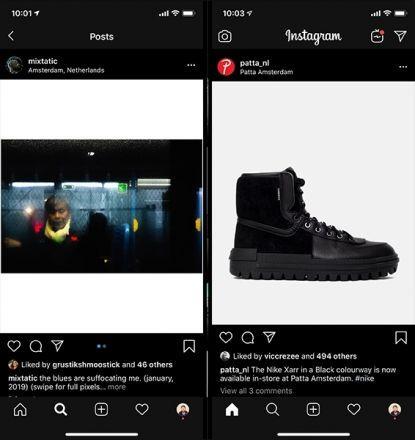"""Cum ne îmbunătățește viața de utilizator noua funcție """"dark mode"""" de pe Instagram"""