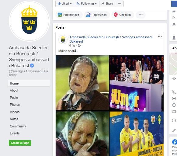 Suedia, tu nu iUmor și nici angajați... informați! Dacă și fotbaliștii nordici sunt la fel, mâine câștigăm de două ori!