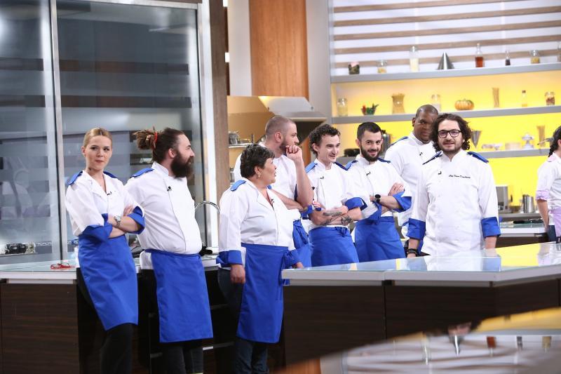 Chef Scãrlãtescu, supãrat înainte de cea de-a treia confruntare Chefi la cuţite!