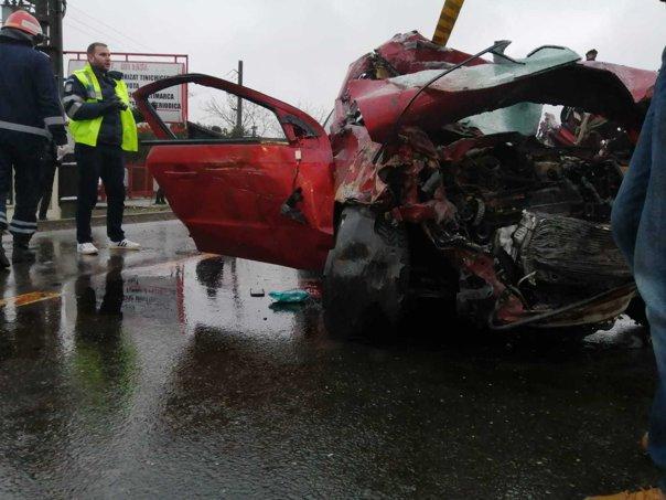 Accident grav în România azi! Doi morți și patru răniți în Focșani! Cum s-a produs accidentul FOTO