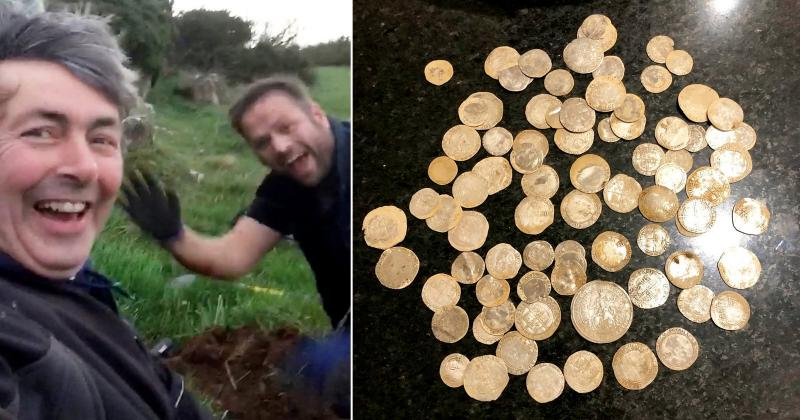 Un bărbat își căuta verigheta atunci când a dat peste ceva colosal! Valorează peste 100.000 de dolari!