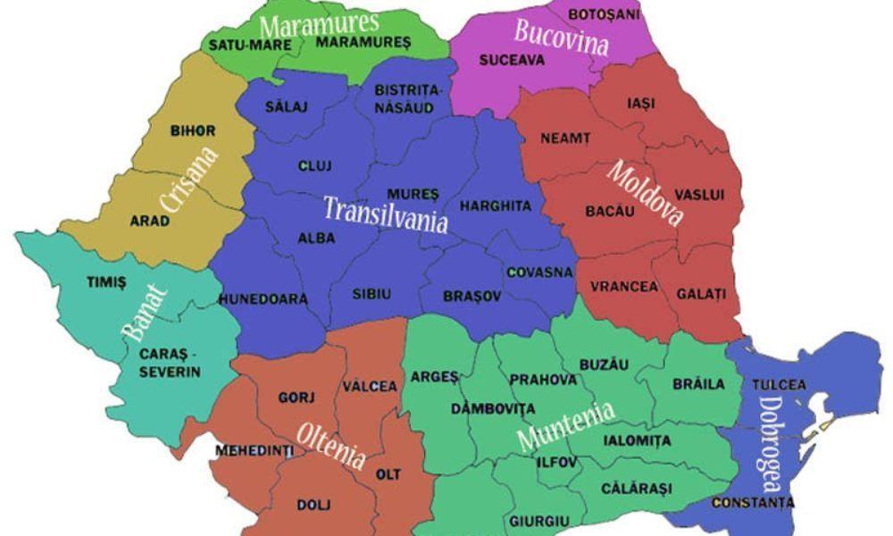 Se Schimba Harta Romaniei Regiuni Intregi Vor Dispărea