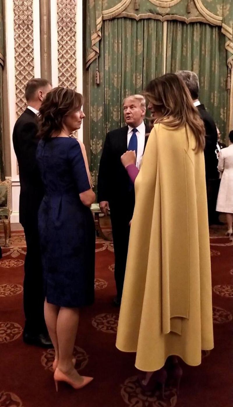Foto - Carmen Iohannis, apariție de senzație alături de Melania Trump! Primele doamne s-au putut admira față-n față. Klaus Iohannis a arătat tuturor cât de mult își iubește soția