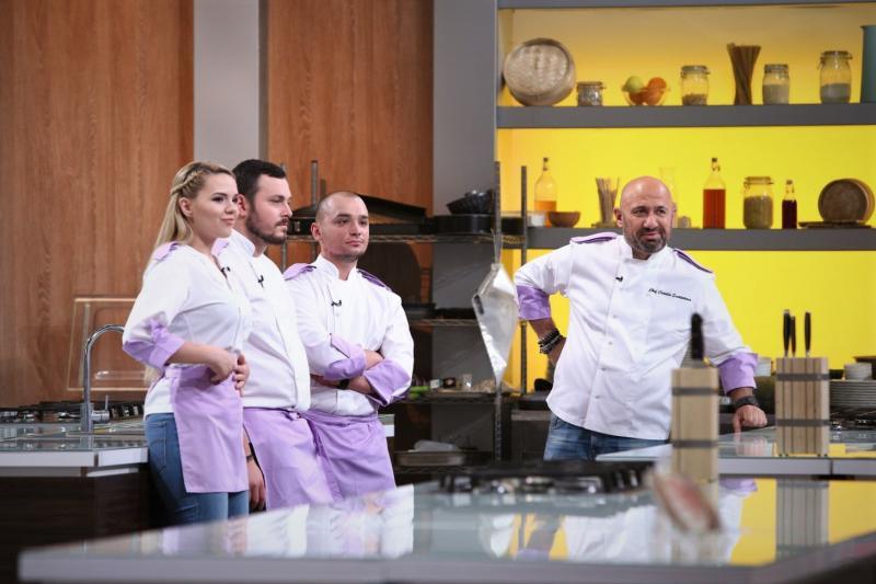 Finala Chefi la cuțite e aproape! Concurenții dau ultima bătălie în bucătărie! Cine merge mai departe