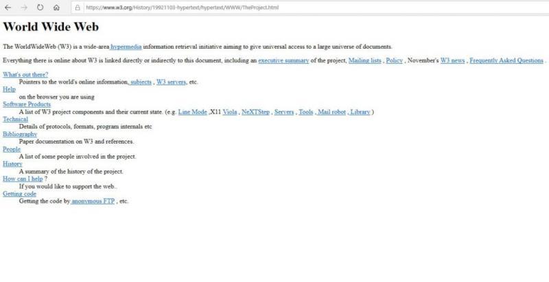 """30 de ani de World Wide WEB. Cum arătau prima pagină de """"net"""" și primul server"""