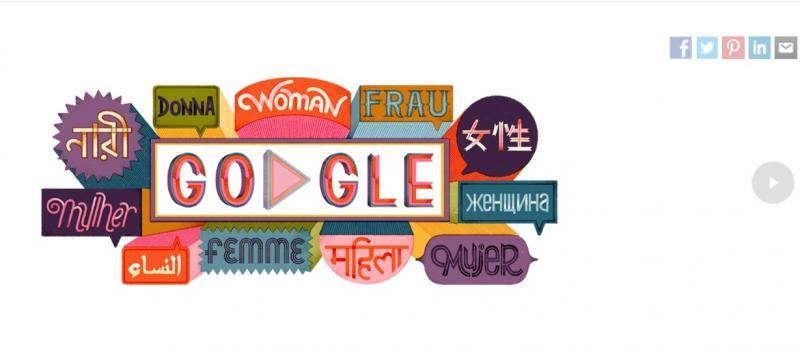 Ziua Femeii 2019. Cum sărbătorește Google Doodle  femeia în România și în lume