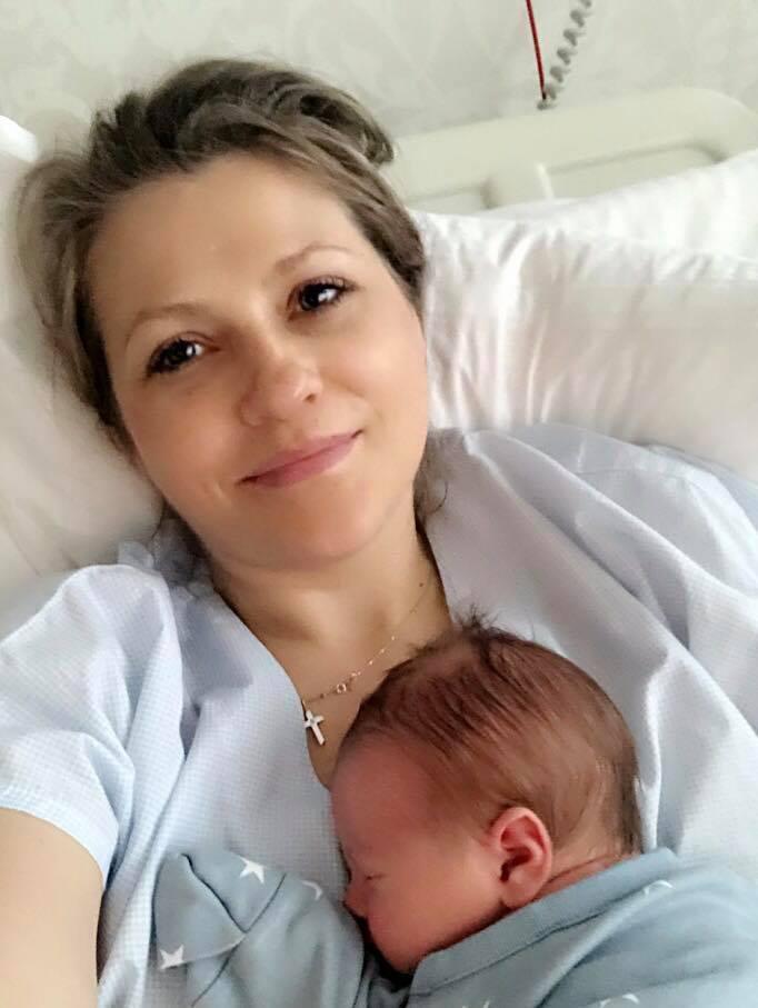 Mirela Boureanu Vaida a publicat prima fotografie cu bebelușul său! Uite cât de frumos este micuțul Tudor Ștefan!