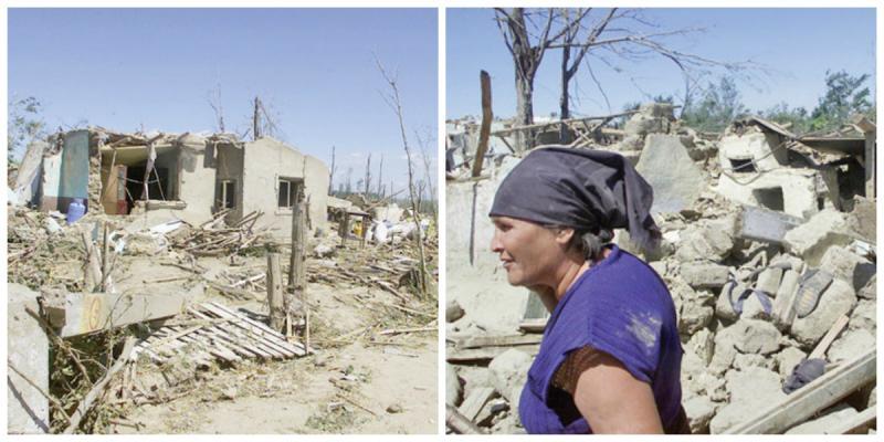 20 de morți, zeci de răniți și sute de gospodării distruse în urma tornadelor de la Brețcu și Făcăeni! Fenomenele extreme de care a uitat toată lumea