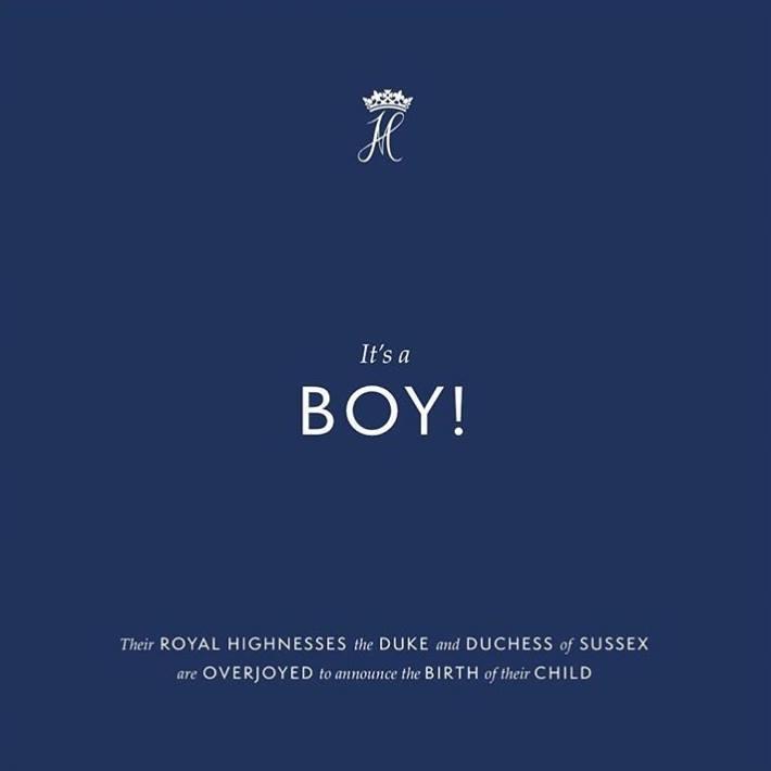 E băiat! Meghan Marke a născut primul copil al prințului Harry