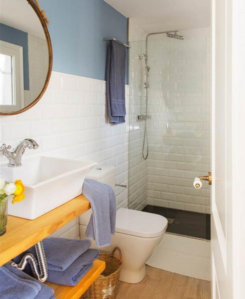 Idei și trucuri pentru amenajare baie de 3 mp. Cum folosești spațiul eficient