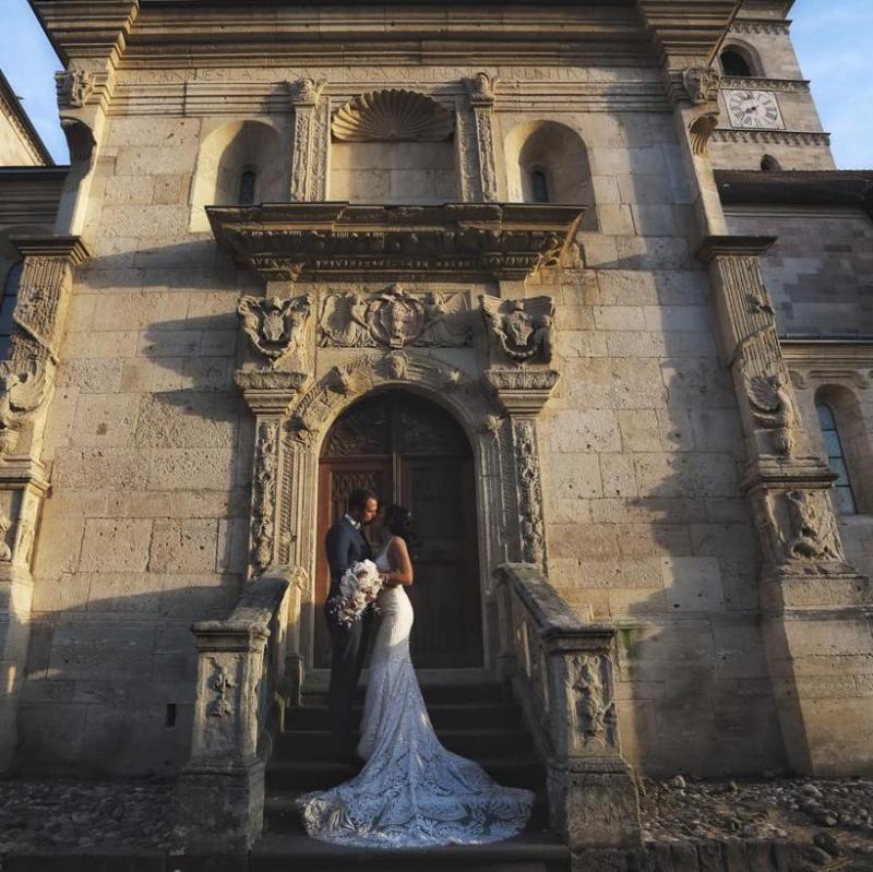 """Medana și Robert de la Insula Iubirii s-au căsătorit religios! Mesajul emoționant făcut public: """"A fost o zi de neuitat!"""""""