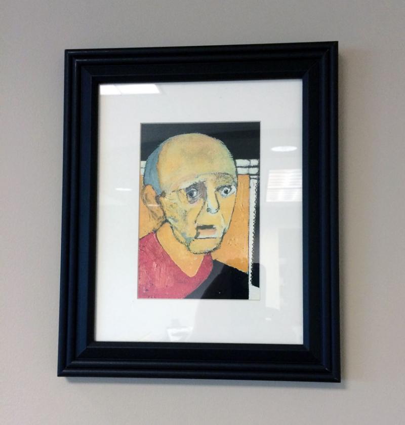 Și-a pictat chipul ani întregi până când nu și l-a mai putut aminti! Opt portrete ale unui artist care suferea de Alzheimer dezvăluie felul în care boala l-a transfigurat!