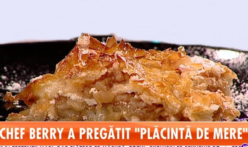 Star Matinal. Rețeta Zilei! Chef Berry pregătește Plăcintă cu mere și un mic dejun turcesc