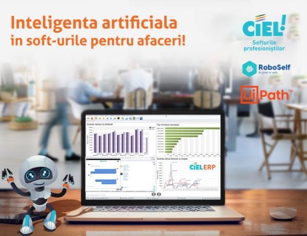 CIEL România a lansat robotul software care face munca de rutină de care toți angajatorii vor să scape