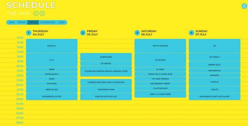 Neversea 2019, program complet, pe zile. Ce artiști urcă pe cele 5 scene
